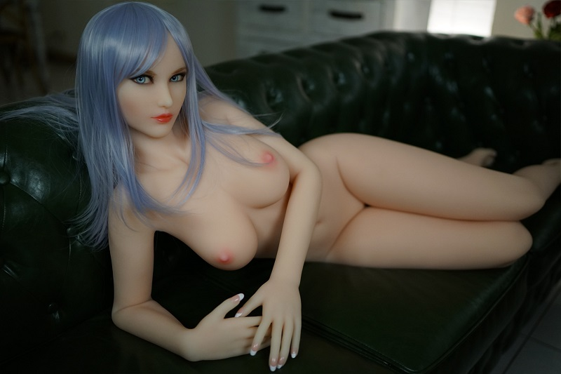 Nude in a doll house