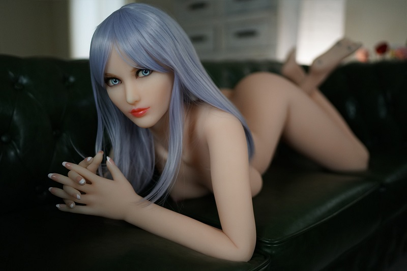 blue hair sex doll