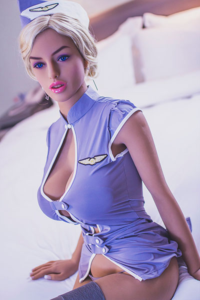 flight attendant tpe real doll kelly