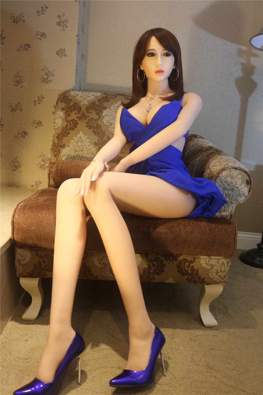 celebrity real doll monica