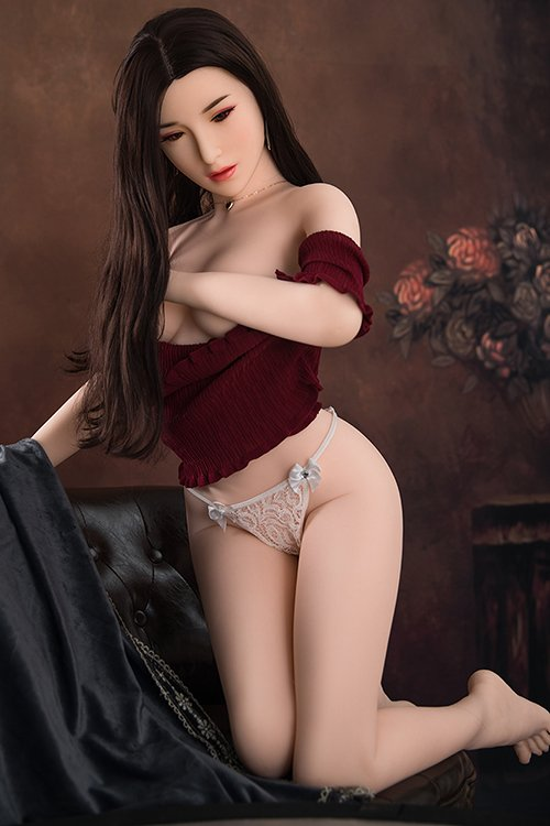 flat chest love doll