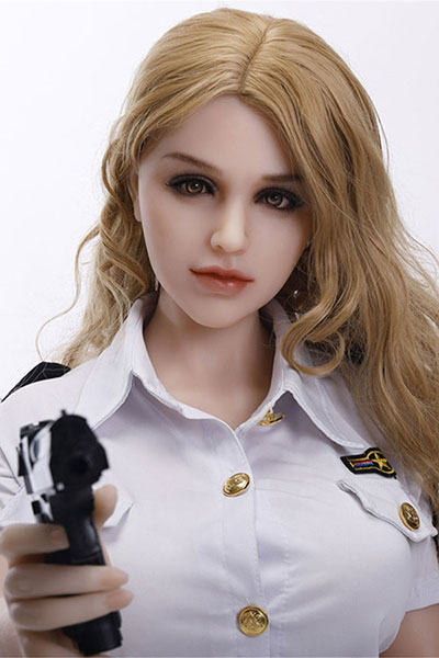 156cm blonde silicone sex doll