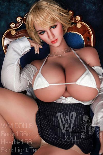 blonde WM sex doll Kristin