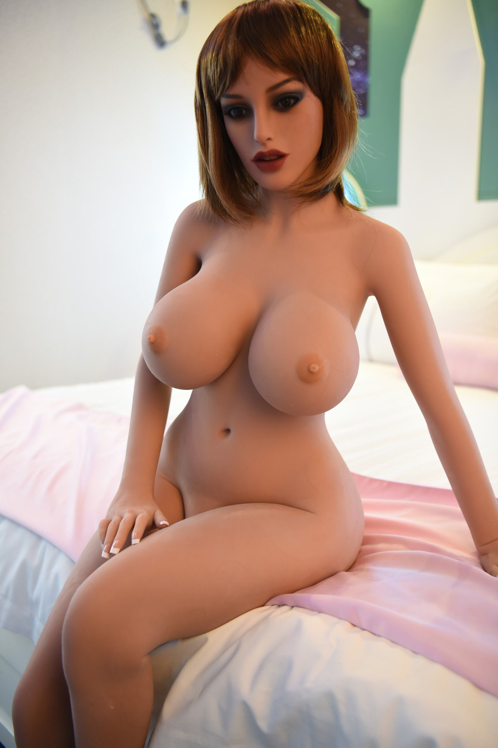150cm brown hair sex doll taylor