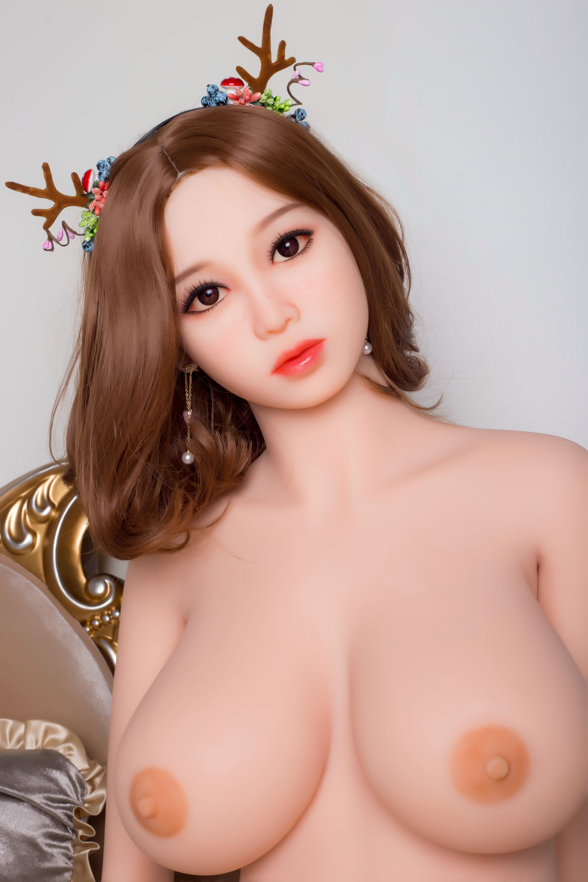 pink cute japanese sex doll Hanako