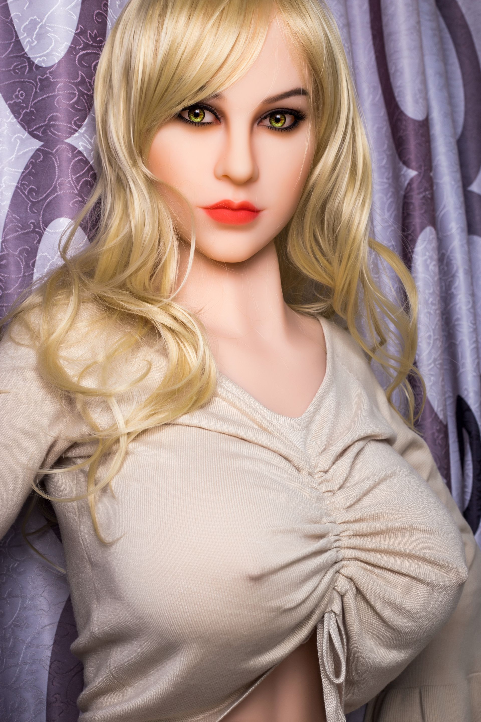 blonde sexy kitty real doll Catherine